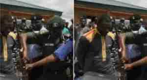 "Popular Notorious Kidnapper ""Nnadi Daniel"" Arrested By Police In Enugu [Photos]"